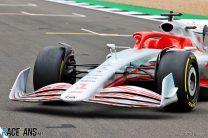 2022 F1 car model, Silverstone, 2021