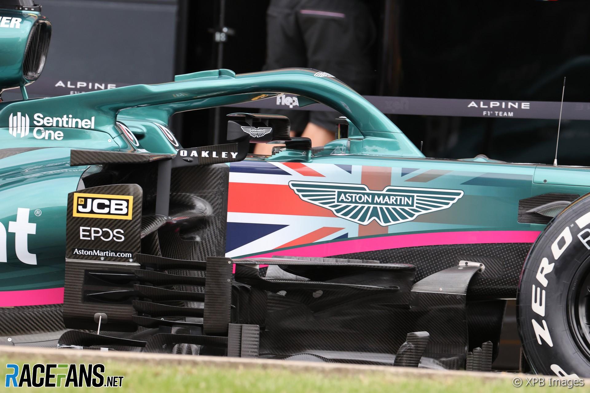 Aston Martin, Silverstone, 2021