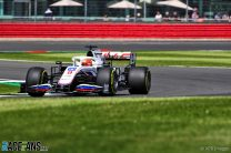 Nikita Mazepin, Haas, Silverstone, 2021
