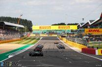 Practice Starts, Silverstone, 2021