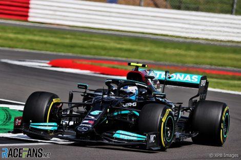 Valtteri Bottas, Mercedes, Silverstone, 2021