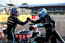 """Hamilton predicts """"bright future"""" for outgoing team mate Bottas"""