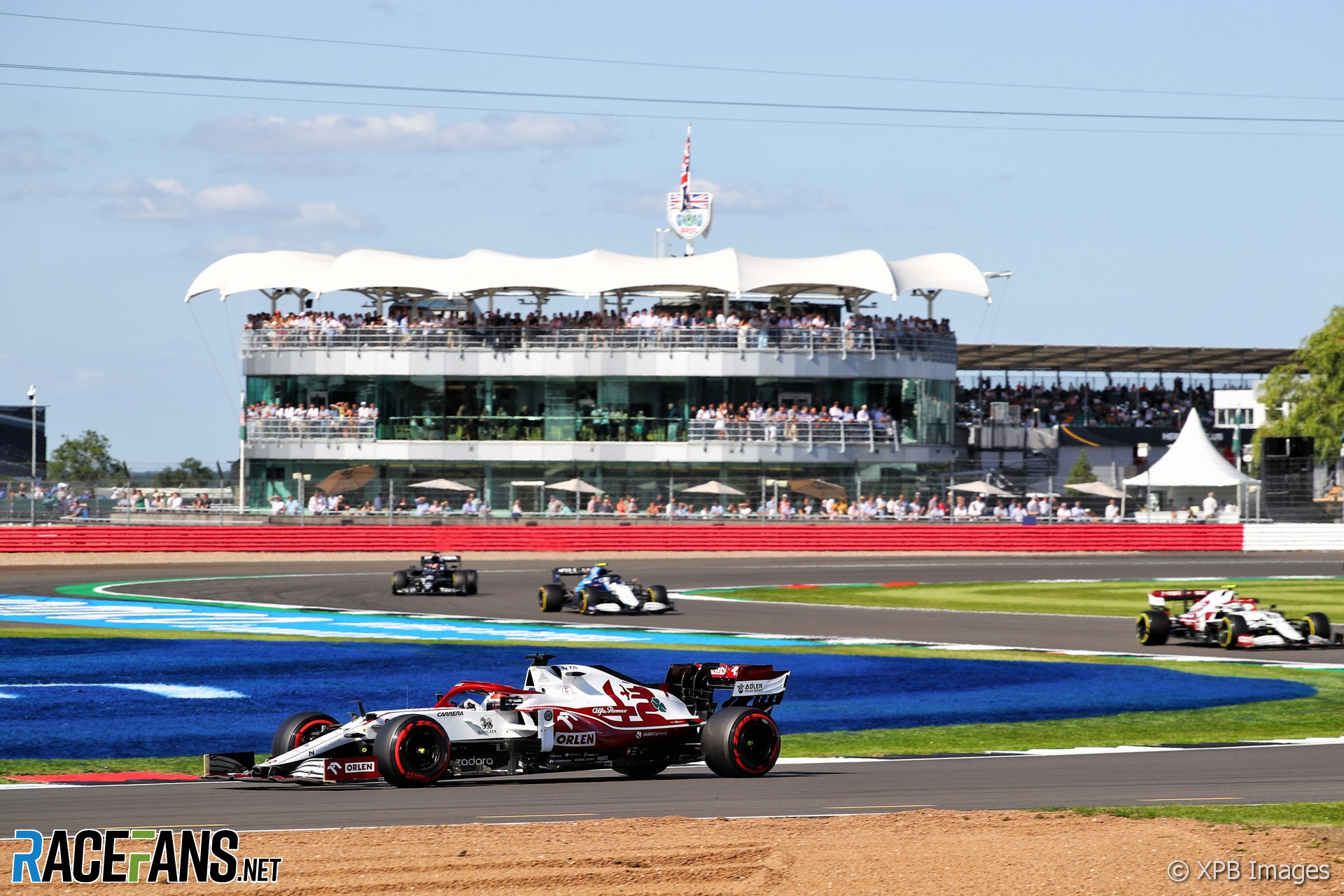 Kimi Raikkonen, Alfa Romeo, Silverstone, 2021