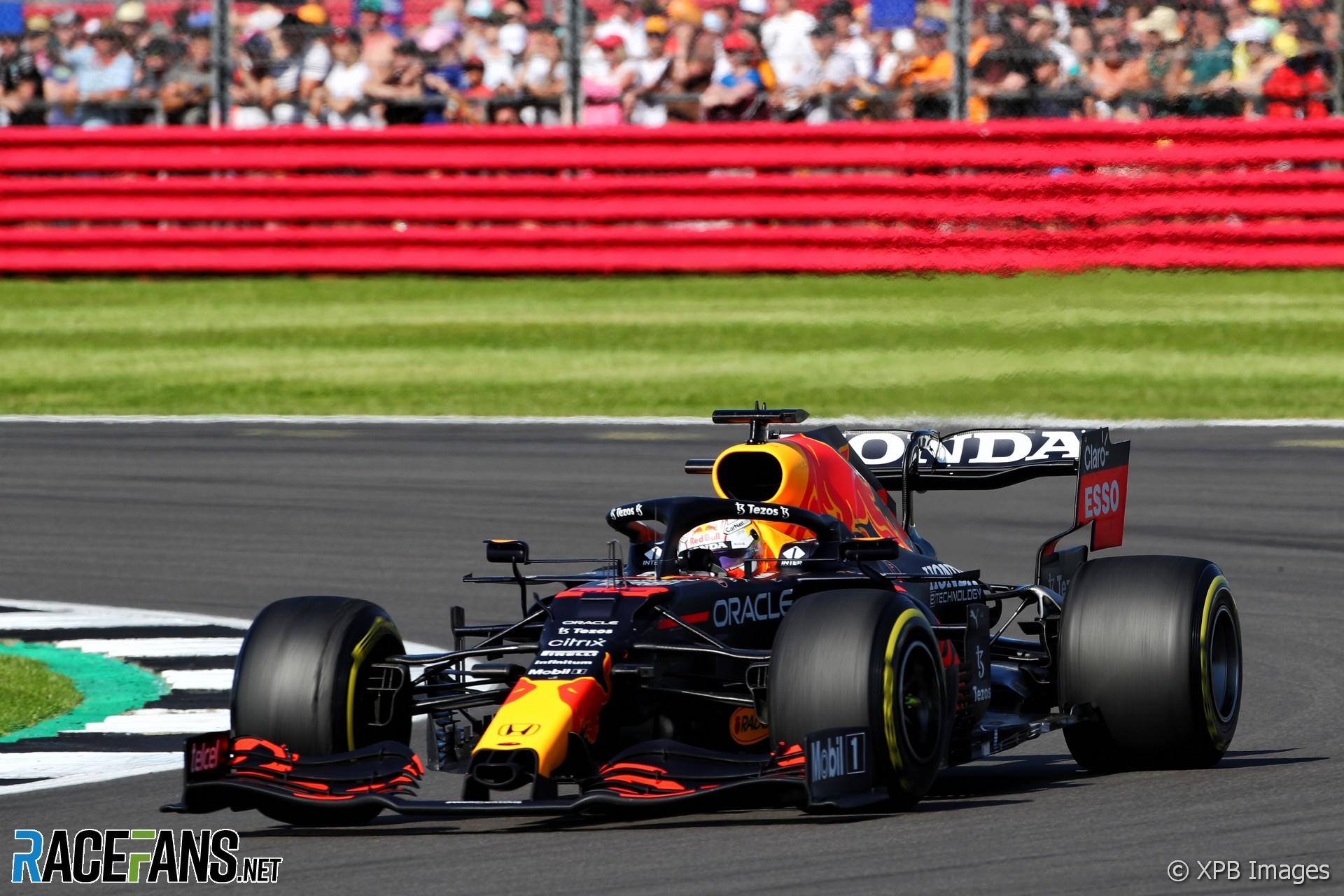 Max Verstappen, Red Bull, Silverstone, 2021