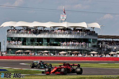 Charles Leclerc, Ferrari, Silverstone, 2021