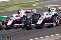 Mick Schumacher, Haas, Silverstone, 2021
