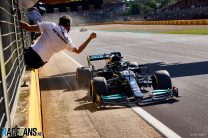 """""""A win is a win"""" says Wolff as Mercedes halt Red Bull's victory run"""