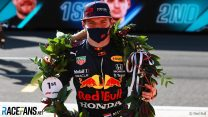 Verstappen is first driver to score points without completing a lap in grand prix