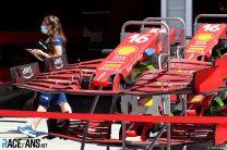 Ferrari, Hungaroring, 2021