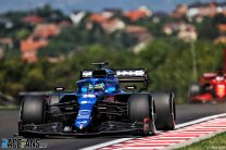 Fernando Alonso, Alpine, Hungaroring, 2021