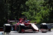 Charles Leclerc, Ferrari, Hungaroring, 2021