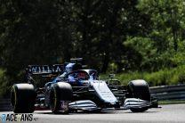 George Russell, Williams, Hungaroring, 2021