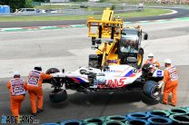"""Haas drivers' crashes """"getting too frequent and too heavy"""" – Steiner"""