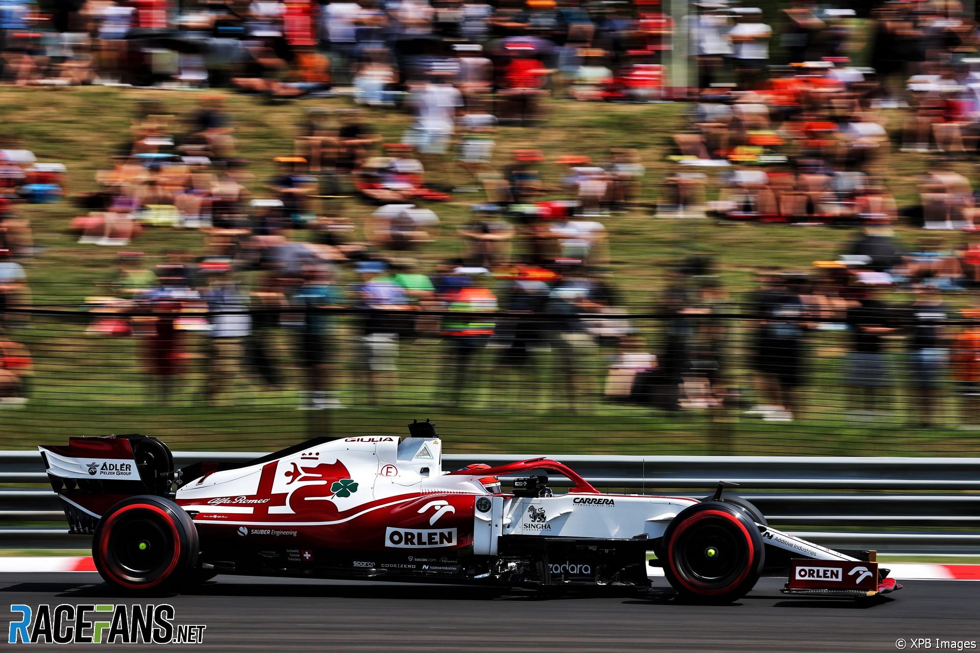 Kimi Raikkonen, Alfa Romeo, Hungaroring, 2021