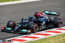 Hamilton on pole as Mercedes confine Verstappen to second-row start