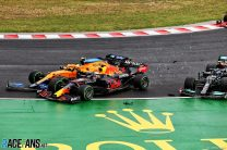 Verstappen rues lost championship lead after being 'taken out again by a Mercedes'