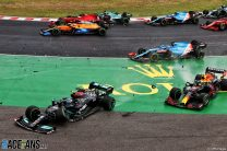 """Bottas apologises and accepts penalty for crash which was """"obviously my mistake"""""""