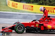 Ferrari expect penalty for Leclerc following engine damage in Stroll crash