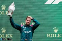 Vettel's disqualification stands as Aston Martin drop appeal bid