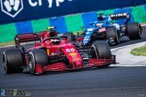 Carlos Sainz Jnr, Ferrari, Hungaroring, 2021