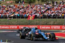 Ocon emerges from lap one carnage to take shock first win for Alpine in Hungary