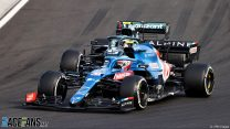Ocon thanks Alpine for keeping trust in him after breakthrough win