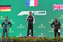 Top two finishers Ocon and Vettel under investigation after Hungarian Grand Prix