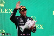 """Hamilton suspects he has Long Covid symptoms after """"battle"""" with health"""