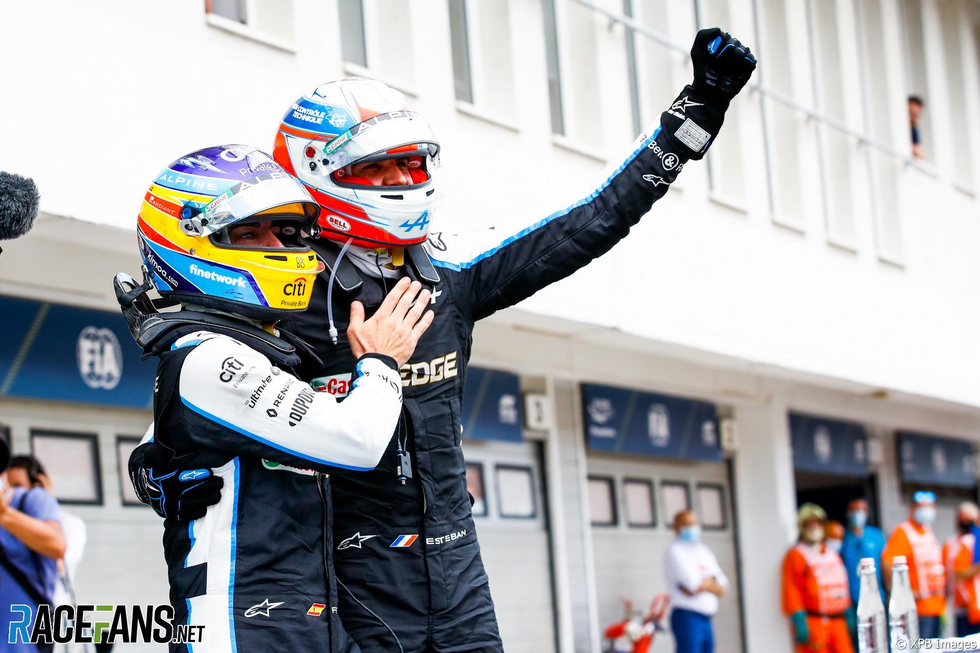 Esteban Ocon, Alpine, Hungaroring, 2021
