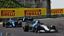 Russell thanked the FIA but it was Williams who saved him from a penalty