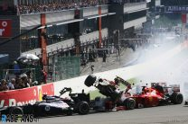 Grosjean handed one-race ban for first-corner crash