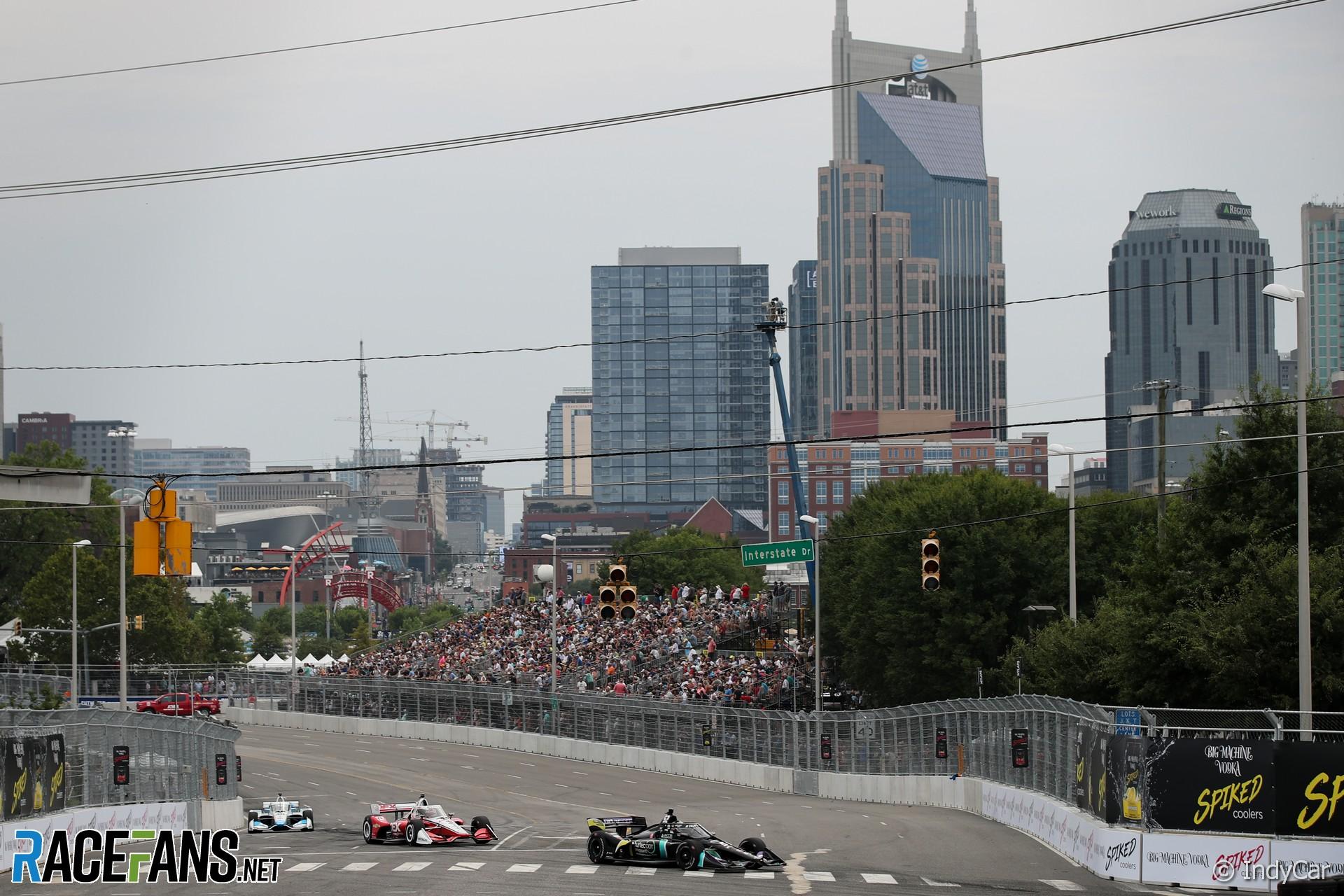 Cody Ware, Coyne/Rick Ware, IndyCar, Nashville, 2021
