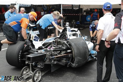 Jimmie Johnson, Ganassi, IndyCar, Nashville, 2021