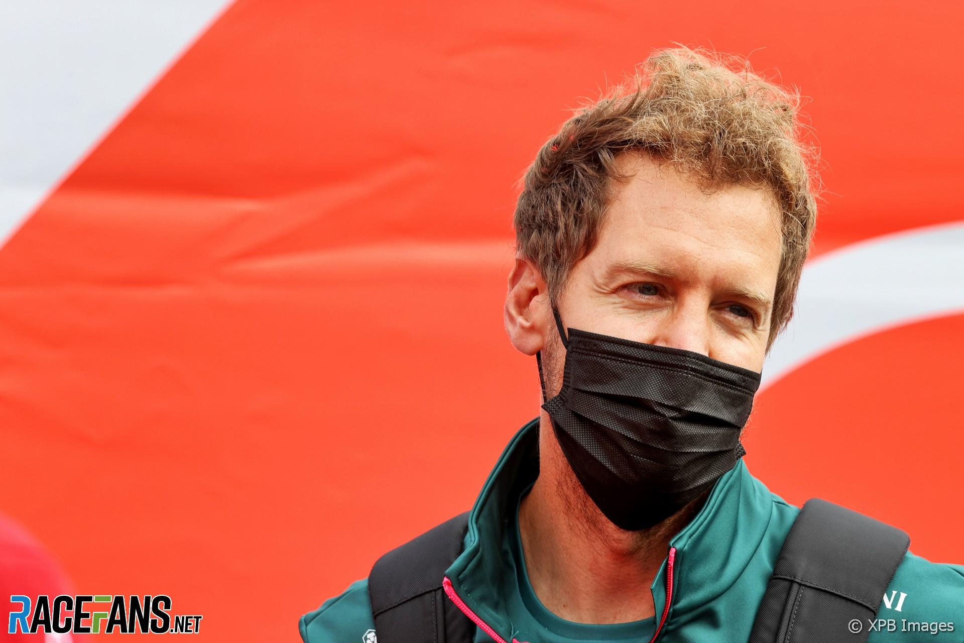 Sebastian Vettel, Aston Martin, Spa-Francorchamps, 2021