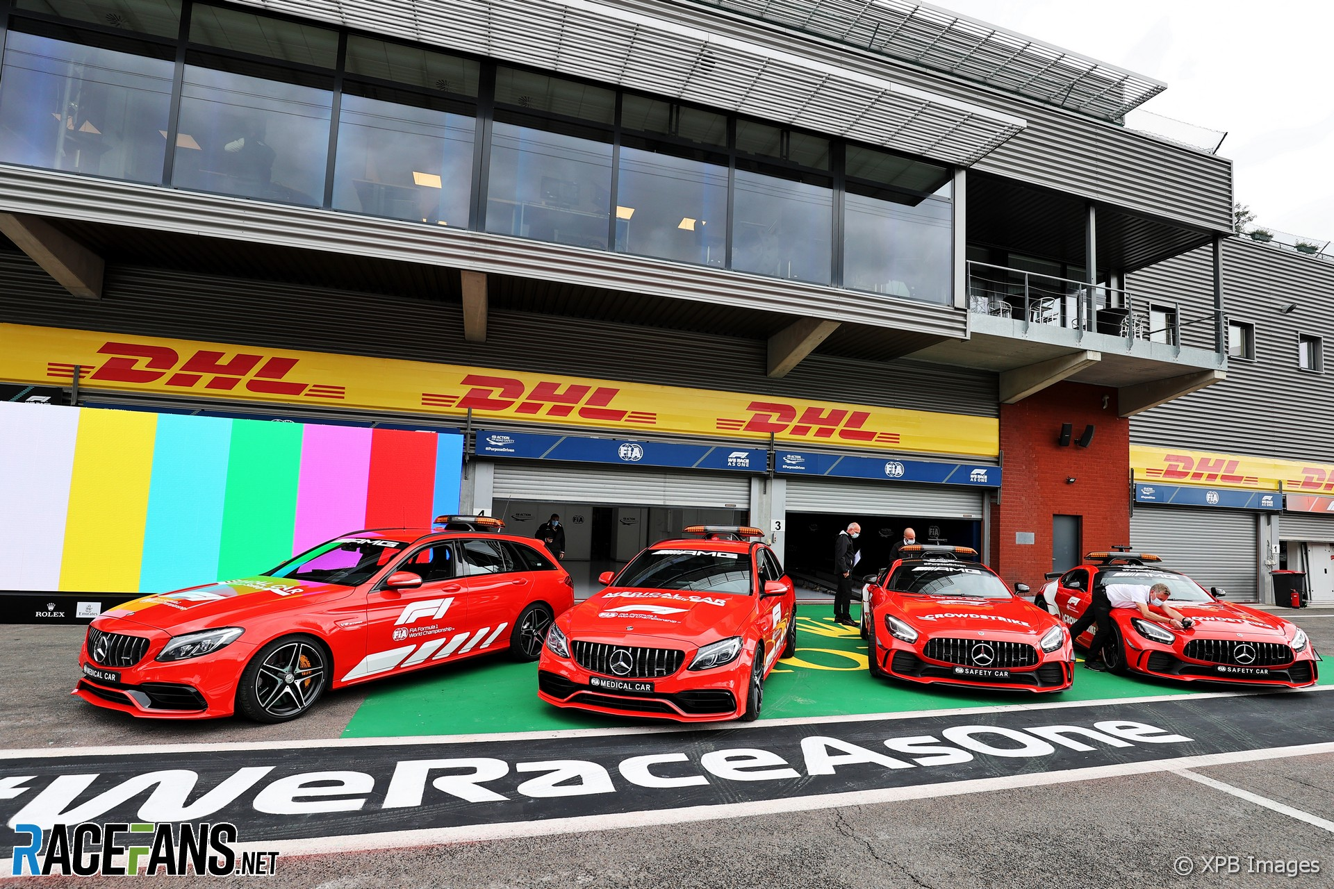 Official course cars, Spa-Francorchamps, 2021