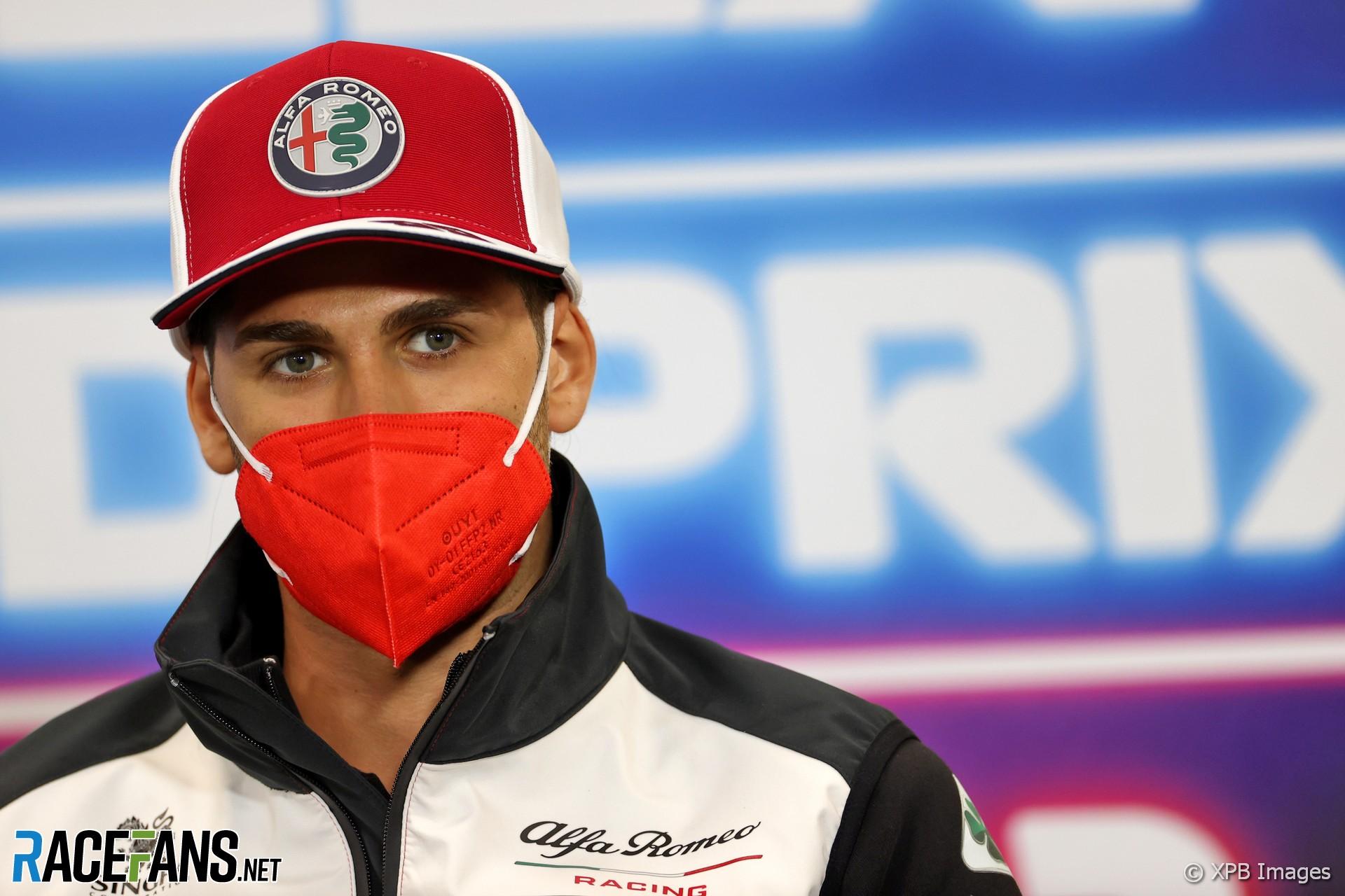 Antonio Giovinazzi, Alfa Romeo, Spa-Francorchamps, 2021