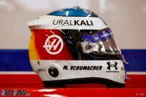 Mick Schumacher wears father's original helmet design for Belgian GP