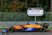 Lando Norris, McLaren, Spa-Francorchamps, 2021