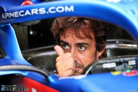 Fernando Alonso, Alpine, Spa-Francorchamps, 2021