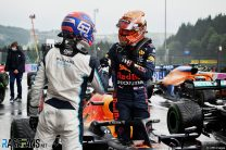 George Russell, Max Verstappen, Spa-Francorchamps, 2021