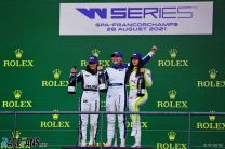 Kimilainen takes W Series Spa win in wet racing masterclass