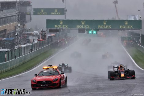 Safety Car, Spa-Francorchamps, 2021