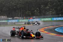 """""""Not how you want to win"""" admits Verstappen as no racing laps are run at Spa"""