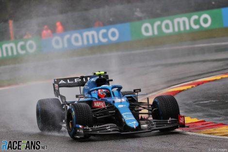 Esteban Ocon, Alpine, Spa-Francorchamps, 2021