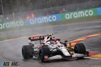 Alfa Romeo criticises F1's handling of Belgian Grand Prix