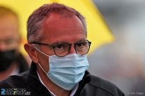 """F1 CEO Domenicali reacts to calls for refunds as Hamilton brands Belgian GP a """"farce"""""""