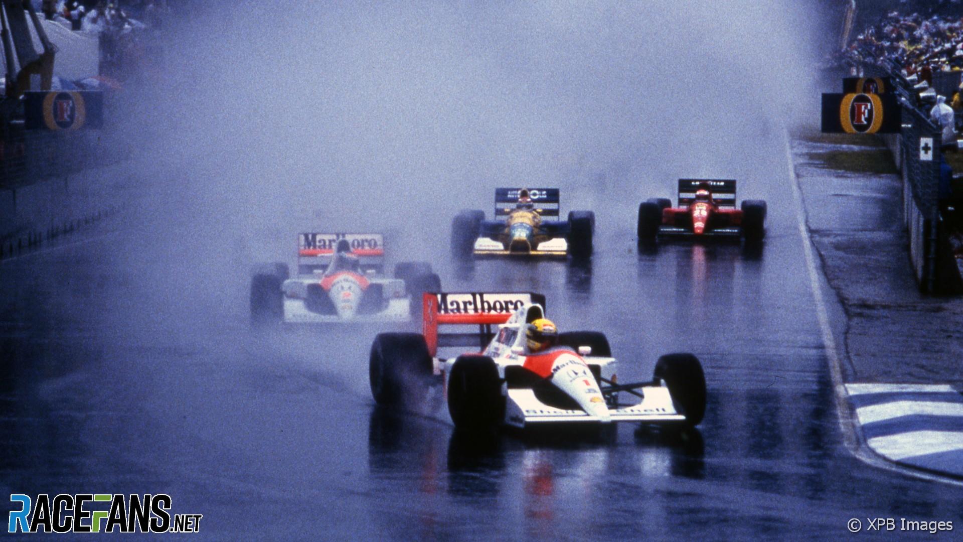 Start, Australian Grand Prix, Adelaide, 1991