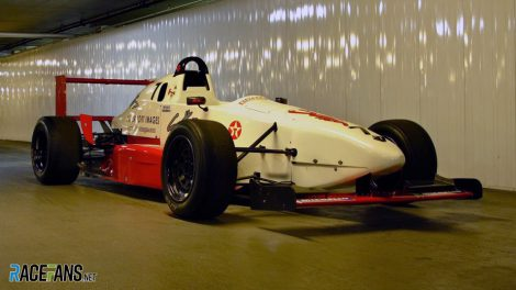 Kimi Raikkonen Manor Formula Renault car