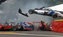Two drivers hospitalised after six-car crash at Raidillon halts W Series qualifying