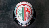 Charles Leclerc's 2021 Italian Grand Prix helmet design
